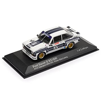 1:43 Minichamps Ludwig Ford Escort II Mk2 RS1800 by Minichamps