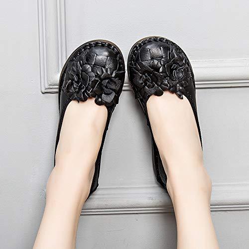 Shoes Noir Eu Taille Qiusa Noir couleur 38 Pzxw6q