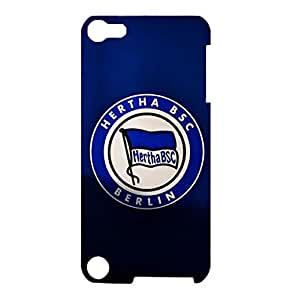 Hertha BSC Phone Case Retro Design Hertha BSC Logo 3D Protective Hard Phone Case for Ipod Touch 5th Generation