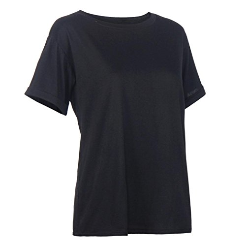 LHWY Las Mujeres Señoras Verano Corto Camisa Camiseta Deporte Tops Blusa
