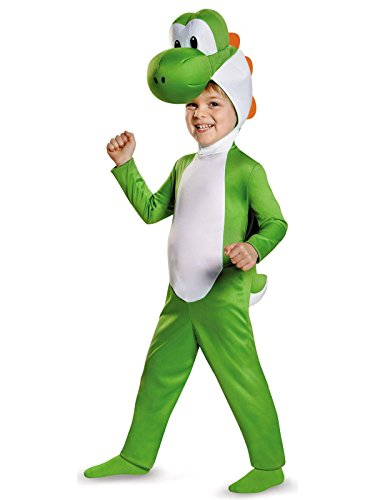 Yoshi Toddler Costume, Medium (3T-4T) ()