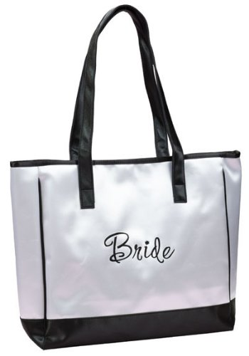 Wedding Planning Bride Satin Tote Bag