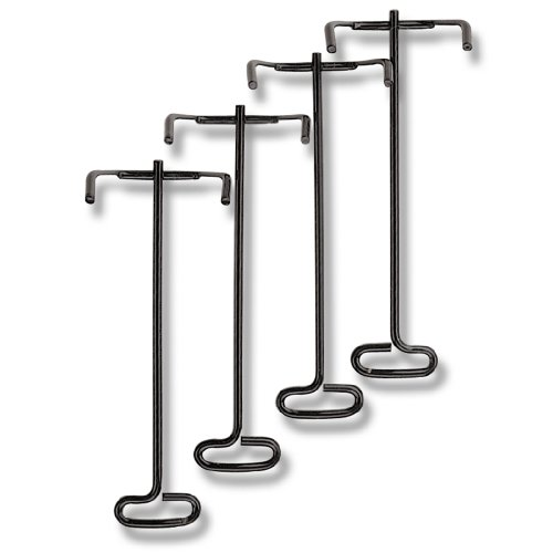Officemate OIC Wire Stacking Posts for Letter Tray, Black (Stacking Posts)