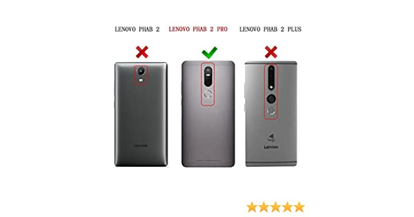 Lenovo Phab 2 Pro carcasa funda / funda / caso, KuGi ® Lenovo Phab 2 Pro funda carcasa / caso: Amazon.es: Electrónica