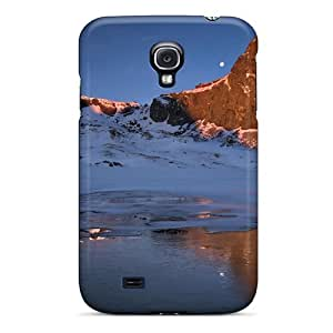 Galaxy S4 Case Cover - Slim Fit Tpu Protector Shock Absorbent Case (snow Beauty)