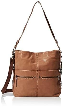 The Sak Sanibel Bucket Shoulder Bag, Almond, One Size ...