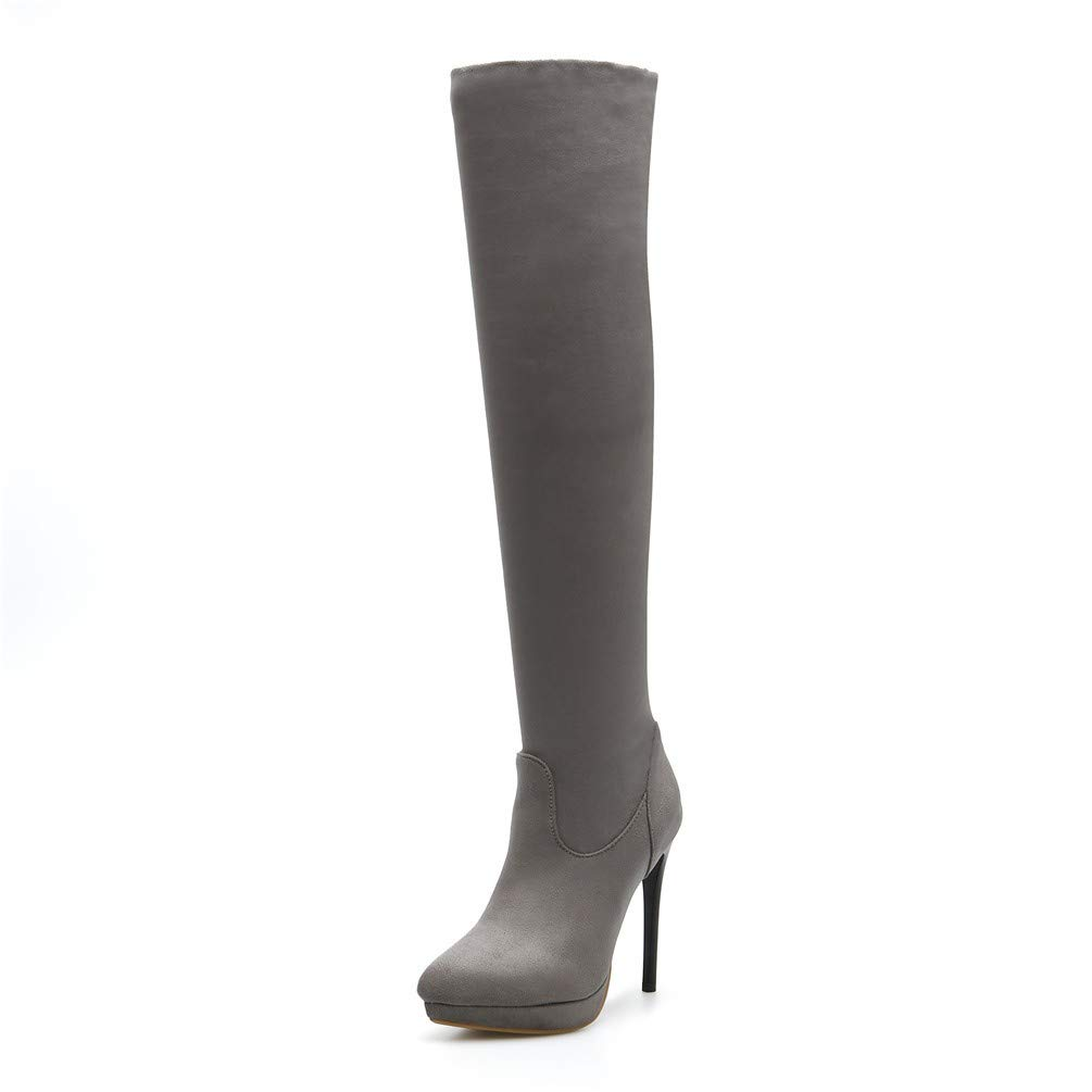 Bottes Femme Talons | Bottines Gray | Bottes Hautes, Talons Taille. Hauts et Bottes de Grande Taille. Gray 210b185 - fast-weightloss-diet.space