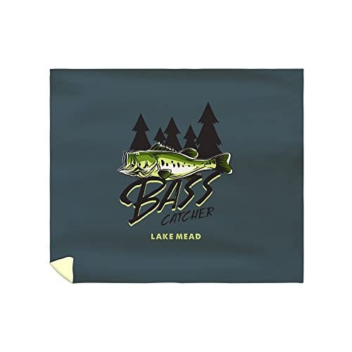 New Lake Mead - Bass Catcher (88x104 King Microfiber Duvet Cover) for sale qrQPfNW8