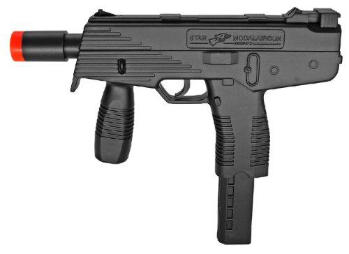 Machine Automatic Guns Bb - BBTac M30 Airsoft Spring Pistol SMG's 250 FPS Gun and 18 Round Clip/Magazine