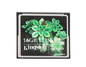 (Kingston 16GB 133X CF Compact Flash Card (Black))