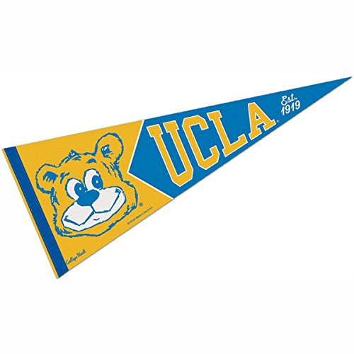 "WinCraft UCLA Bruins College Vault and Throwback Pennant blue 12""x30"""