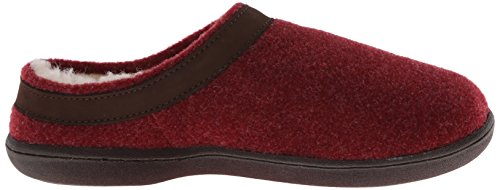 Burgundy Women's Friend Curly Moccasin Old w4qIx5U57