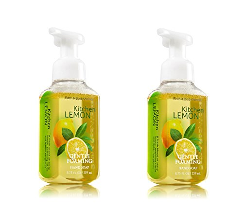 Bath and Body Works doux moussant main savon cuisine citron (ensemble de 2)