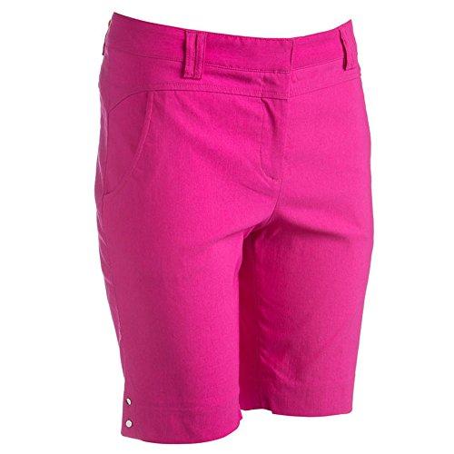 Bette & Court Women Flex Smooth Fit Golf Shorts Hot Pink 8