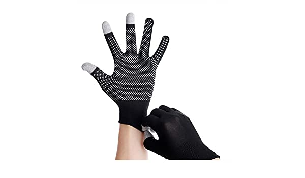 Mhomrs Cycling Gloves Thin Non-Slip Touching Screen Full Finger Gloves for Mountaineering Sports: Amazon.es: Hogar