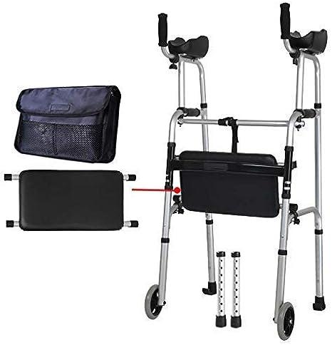 N/ A Aleación de Aluminio Ayuda para Caminar Protección para Caminante Luz de la Columna Lumbar Hemiplejía Entrenamiento de Miembros Inferiores, ayudas para Caminar para Ancianos