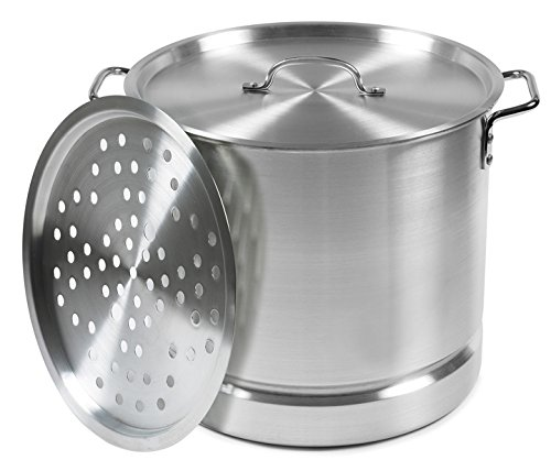 IMUSA USA MEXICANA-24 Aluminum Tamale and Steamer Steamer Po 12-Quart