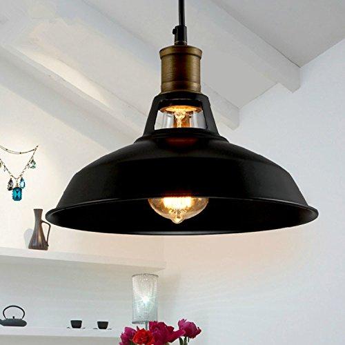 DHmart Loft Industrial Pendant Lights Vintage RH Edison Hanging Lamp E27 110 220V Pendant Lamps for Home Decor Restaurant Luminarias