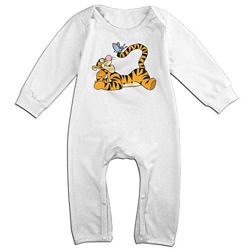 Newborn Piglet Costumes (Dadada Newborn Tigger Butterfly Long Sleeve Climbing Clothes 24 Months)