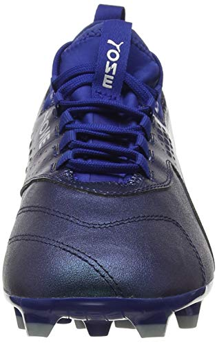 De One puma Football Puma Homme peacoat Blue Ag Chaussures 3 sodalite Lth Bleu 02 Silver SAxSndqX