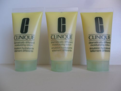 Clinique Dramatically Different Moisturizing Lotion 1 oz / 30ml x 3 = 3 oz (Tube size)