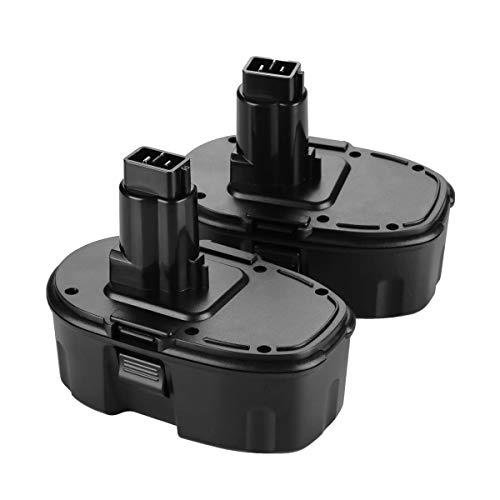 2x Murllen 18V 3800mAh Ni-MH Replacement for Dewalt 18 Volt XRP Battery DC9096 DC9098 DC9099 DW9095 DW9096 DW9098 DE9039 Cordless Power Tool