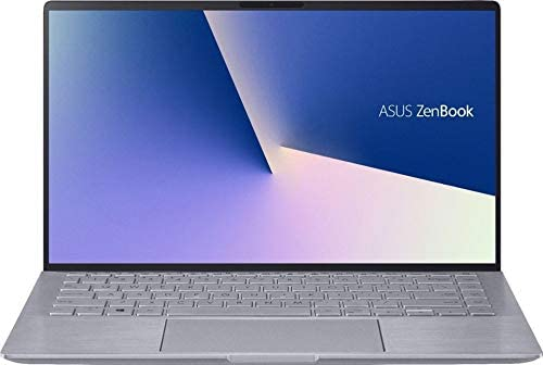 "ASUS Zenbook 14"" Full HD Laptop, AMD Ryzen 5-4500U, Backlit Keyboard, Front-Facing Camera, HDMI Output, Amazon Alexa, NVIDIA GeForce MX350, Windows 10, Light Gray (8GB RAM | 512GB PCIe SSD)"