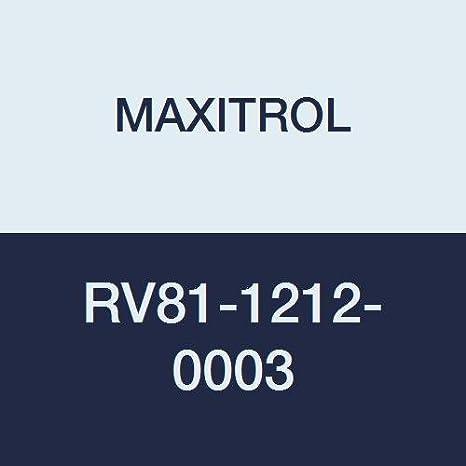 Maxitrol RV53-3//4 3//4 Straight-Thru-Flow Gas Regulator 300 1 Aluminum 000 Btu