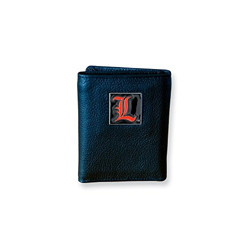 ICE CARATS Collegiate Louisville Tri Fold Wallet Man Fashion Jewelry Gift for Dad Mens for Him