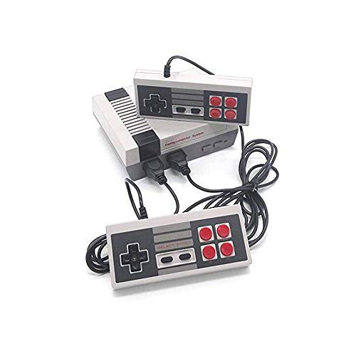 GameAge Classic Family Game Consoles Built-in 600 TV Video Games with Dual Controllers,Professional System for NES Game Player (Video Nes System Game Console)