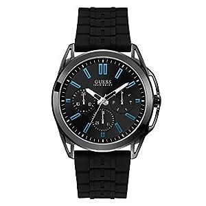 Guess Analog Black Dial Men's Watch-W1177G1