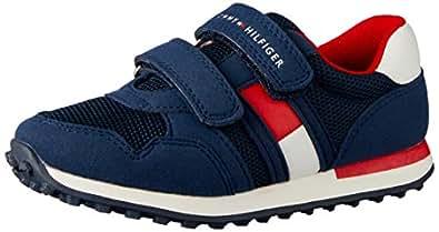 TOMMY HILFIGER Low Cut Velcro Sneaker Low Cut Velcro Sneaker, Blue, 24 EU