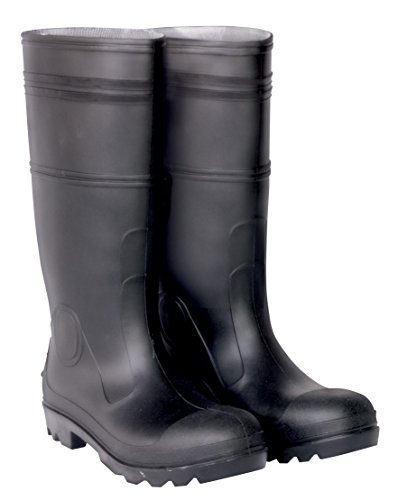 CLC Custom Leathercraft Rain Wear R23011 Over The Sock Black PVC Men