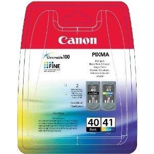 Paquete combo de cartuchos de tinta CL-41 y PG-40 Canon Original ...