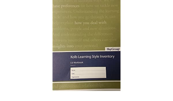 Kolb Learning Style Inventory (Pack of 10 Booklets): David A  Kolb