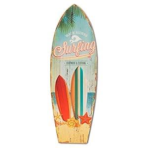 Surfen Surfbrett Holz Wand Dekoration