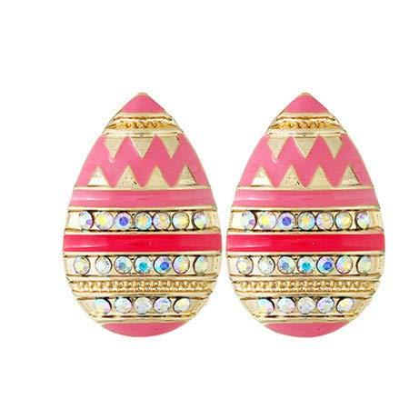 Topgee 2019 Women Fashion Tassel Earrings Women Bohemian Exaggerated Retro Fashion Fringed Metal Earrings Alloy Earrings Ear Ring Combination of Fashion Simple Earrings Woman Girl Rhinestone Stud
