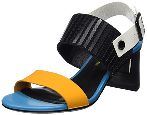 Open Mehrfarbig Slingback Toe Zink Sandals Women's United Nude mango Mid Mix P8XEPFq