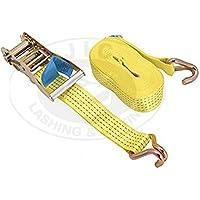 JIC Polyester Cargo Lashing Belt , 50mm X 12Mtrs (Yellow / Orange)