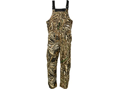 Insulated Waterfowl Bibs - MidwayUSA Men's Duck Creek Bibs Realtree Max-5 Camo Large