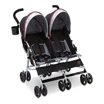 9709a965bb7 Amazon.com : Jeep Scout Double Stroller, Lunar Burgundy : Baby