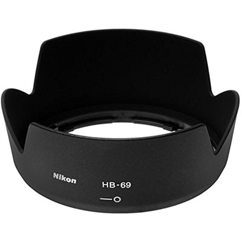 (Nikon HB-69 Bayonet Lens Hood - Only fits the Nikon 18-55mm G VR II DX AF-S Lens)