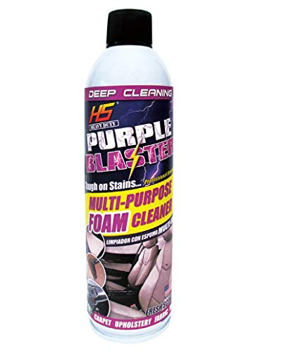 (Car Foam Cleaner Multi-Purpose Aerosol Can deep cleaning Purple Blaster Net Wt. 18 oz )