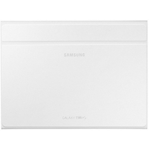 Samsung Folio Book Case Cover for Galaxy Tab S 10.5 inch - White