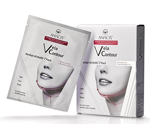 Double Chin Reducer Neck Firming Face Shaping Vela Contour (5 Masks)