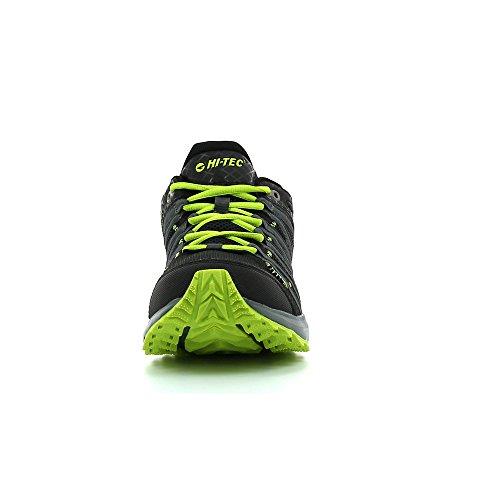 Hi-Tec Sensor Trail Lite - Zapatillas de deporte exterior Hombre Black/Graphite/Lime