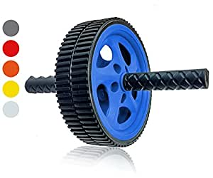Wacces AB Power Wheel Roller - Exercise Equipment for your Home Gym, Blue