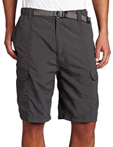 White Sierra Men's Safari 10.5-Inch Inseam Short, XX-Large, Caviar