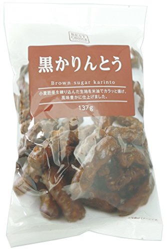 Natsume confectionery best choice black Karinto 142gX5 bags