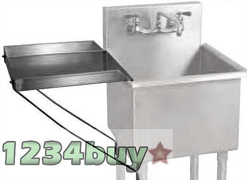 BK Resources Stainless Steel Detachable Drainboards 18